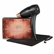 GHD Professional Copper Luxe Flight Travel Hairdryer-Black