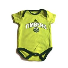 Portland Timbers MLS Adidas Infant Green Short Sleeve One Piece Creeper