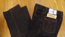 VTG Girls Maverick Blue Bell Denim Black Jeans 10 Reg NOS USA Made 23 x 28