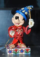 Disney Traditions / Showcase Collection Touch Of Magic Mickey Mouse Figurine