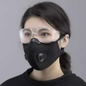 Teenagers Face Mask Covering Washable clothe PM 2.5 Filter 2/two Air vent,valve#