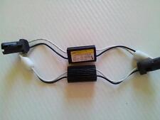CANCELLER RESISTENZA RESISTENZE  2 LAMPADE T10 LED W5W FIAT AUDI