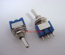 5pcs Toggle Switch 3-Pin SPDT ON-ON  6A 125VAC