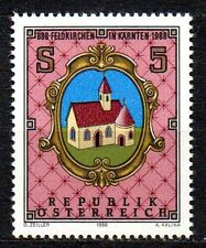 Austria - 1988 1100 years Feldkirchen Mi. 1933 MNH