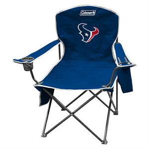 Houston Texans Camping Chair with Cooler 300 lbs