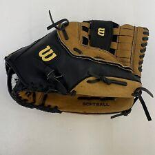 Wilson Softball Glove 13.5 Inch Right Hand Throw Leather A2581 Adult League