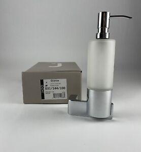 ~NIB~ JADO Soap/Lotion Dispenser - Glance Series - Chrome - 032/144/100