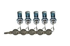 CamLock Cabinet Keyed Cam Lock 5-Pack RV Door, Kitchen Drawer Short Tool Box