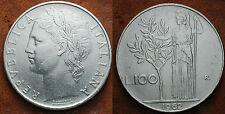 1962  Repubblica Italiana   100   lire    BB