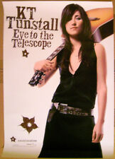 KT TUNSTALL Eye To Telescope 2004 promo POSTER -- 18 inch x 24 inch
