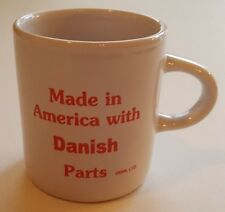 """Children's Child Mug Small Cup - Made in America with """"DANISH"""" Parts  NEW!"""
