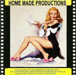 MISS KAMALA LINDE IN A VINTAGE HERITAGE GLAMOUR FILM RARE 8MM B/W