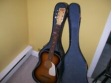 Vintage Beltone acoustic guitar Holland as found