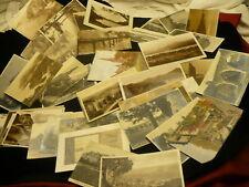 United Kingdom collection lot 50+ postcards vintage 1920-1940  RPPC #1377