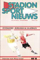 CWC - EC II 95/96 Feyenoord Rotterdam - Borussia Mönchengladbach, 21.03.1996