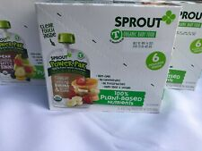 Sprout Organic Baby Food Pouches 18 Count Variety Pack
