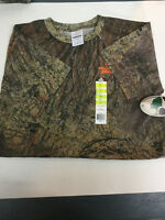 Mossy Oak Youth large short sleeve t-shirt NEW with tags boys camouflage