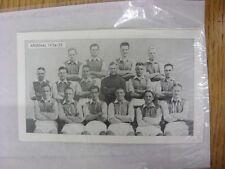 1962 famosa Team: Arsenal 1934/1935 - SQUADRE famosa nel calcio LA STORIA 2nd seri
