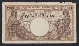 Romania - 2000 lei 1944 MB/F  B-07