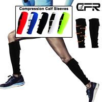 Copper Compression Calf Sleeve Sports Running Leg Foot Support Brace Shin Socks