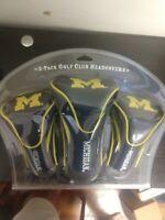 Team Golf Contour Golf Club Headcovers 3pk (Michigan, NAVY) NCAA New Open Box