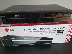 LG RC389H dvd vcr combo