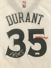 """""""KEVIN DURANT""""SIGNED WARRIORS AUTO CHINESE NEW YEAR JERSEY AUTOGRAPH PANINI RARE"""