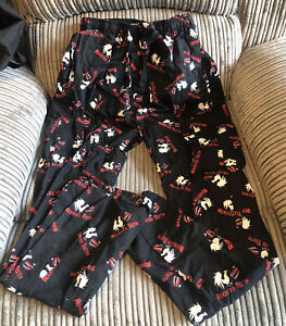 Official Rooster Teeth Pj Bottoms Or Lounge Pants Size Small