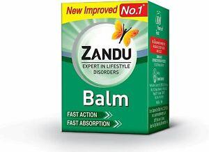 Zandu Balm For Bodyaches, Pains & Headaches 9ml