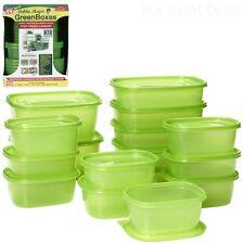 Container Food Box Storage Microwave Lunch Kitchen BPA Free 32 Pc Debbie Meyer