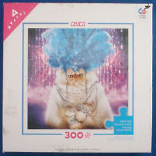 jigsaw puzzle 300 large pc Avanti Showgirl diva persian cat