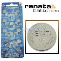 370 Renata Watch Battery SR920W Swiss Made 0% Mercury Official Distributor