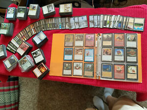 Silver Era BINDER & Whole Magic: the gathering Deckmaster Decks Collection Mtg