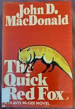 THE QUICK RED FOX John D MacDonald Hardback/DJ Travis McGee Lippincott