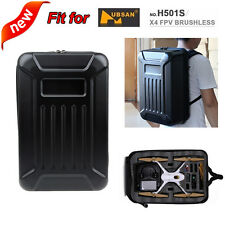 Hard Shell Backpack Case Bag Large Capacity for Hubsan X4 H501S RC Quadcopter K8