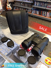 NIKON BINOCULARS MONARCH 5 10X42 BLACK  EXCELLENT CONDITION *FREE FAST SHIPPING*