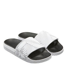 adidas Originals by ALEXANDER WANG  Drop 3 White Adilette Slide