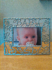 """Malden metal photo frame for """"Baby"""" holds 4""""x 6"""" photo"""