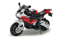 Jamara Elektro Kinderfahrzeug Ride-on Motorrad BMW S1000RR rot 12V