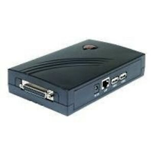 Longshine Printserver 10/100 1x Parallel 2x USB2.0 LCS-PS112 3(BID35285)