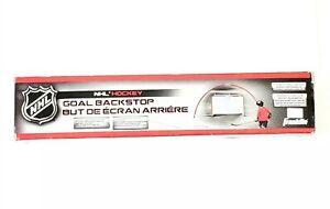Franklin Sports NHL Hockey Goal Backstop Net 13 Ft W x 6 Ft H Fits 72 Inch Goal