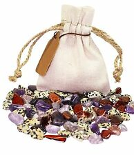 Well Being Power Pouch Healing Crystals Stones Set Tumbled Natural Gemstones