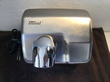 Mind 1700W Electric Hand Dryer Auto Touchless Stainless Steel #GSQ250 Preowned