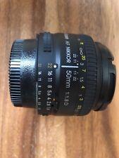 Nikon AF Nikkor 50mm F/1.8 D Lens , Excellent Condition.