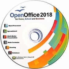 a1 Open OFFICE PRO 2018 for Microsoft Windows - 0.90p - NEW