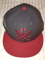 7 1/8  CLEVELAND INDIANS New Era 2019 MLB ASG WORK OUT 59fifty fitted hat star