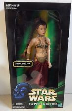 "Hasbro Star Wars 12"" POTF Slave Outfit Princess Leia Doll MIB!!!"