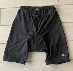 Ronhill Mens Black Cycling Shorts - Size: Large