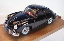 Brumm 1/43 Porsche 356 schwarz in Plexi-Box #1417