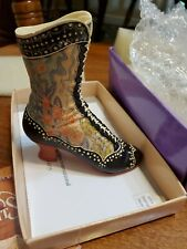 """Just the Right Shoes """"Deco Boot #25015 by Willitts Designs -retired"""
